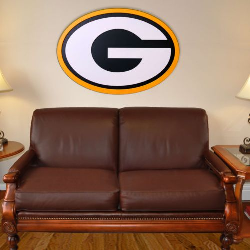 Green Bay Packers 46-inch Carved Wall Art