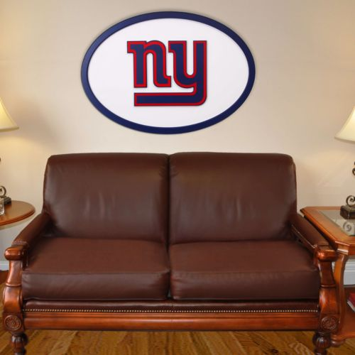 New York Giants 46-inch Carved Wall Art