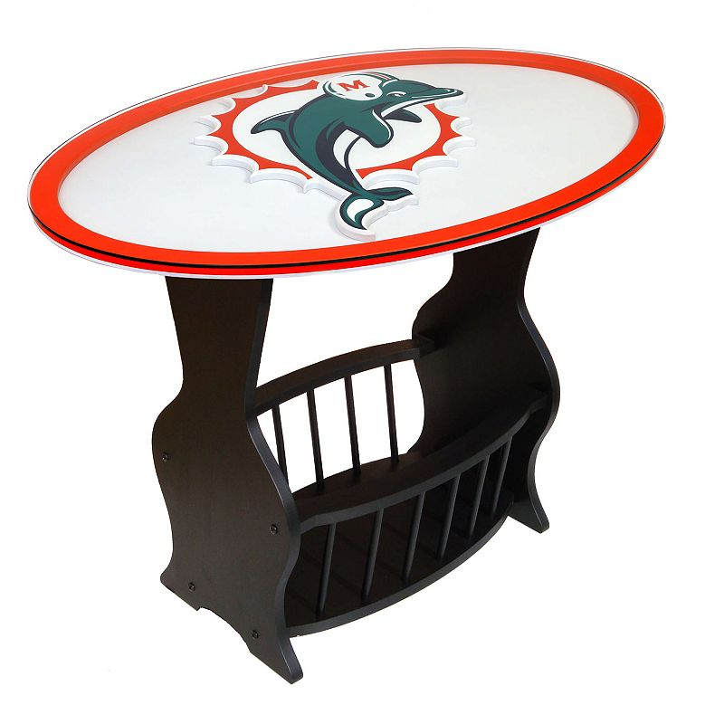 Miami Dolphins End Table