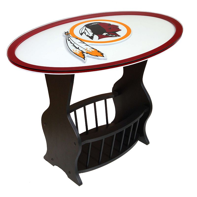 Washington Redskins End Table