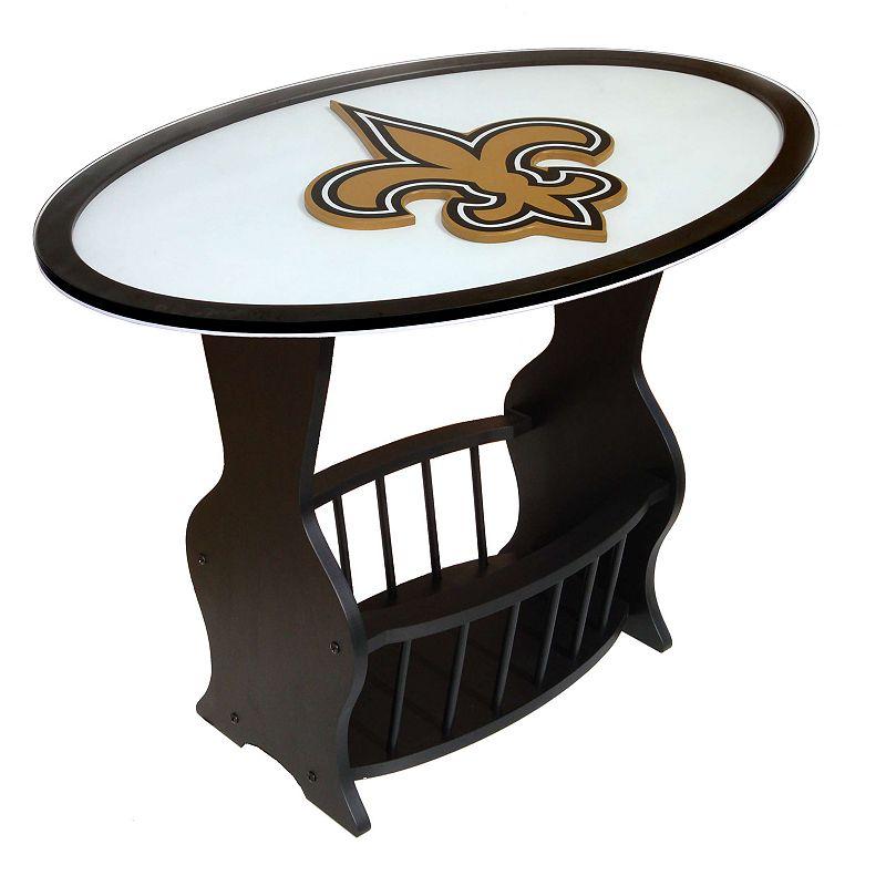 New Orleans Saints End Table