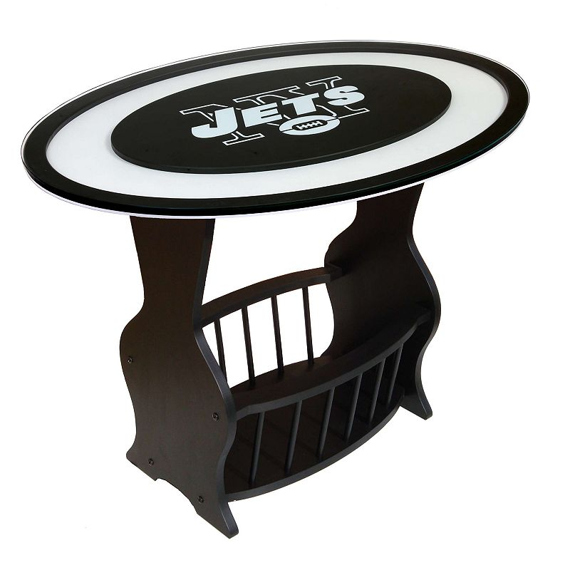 New York Jets End Table