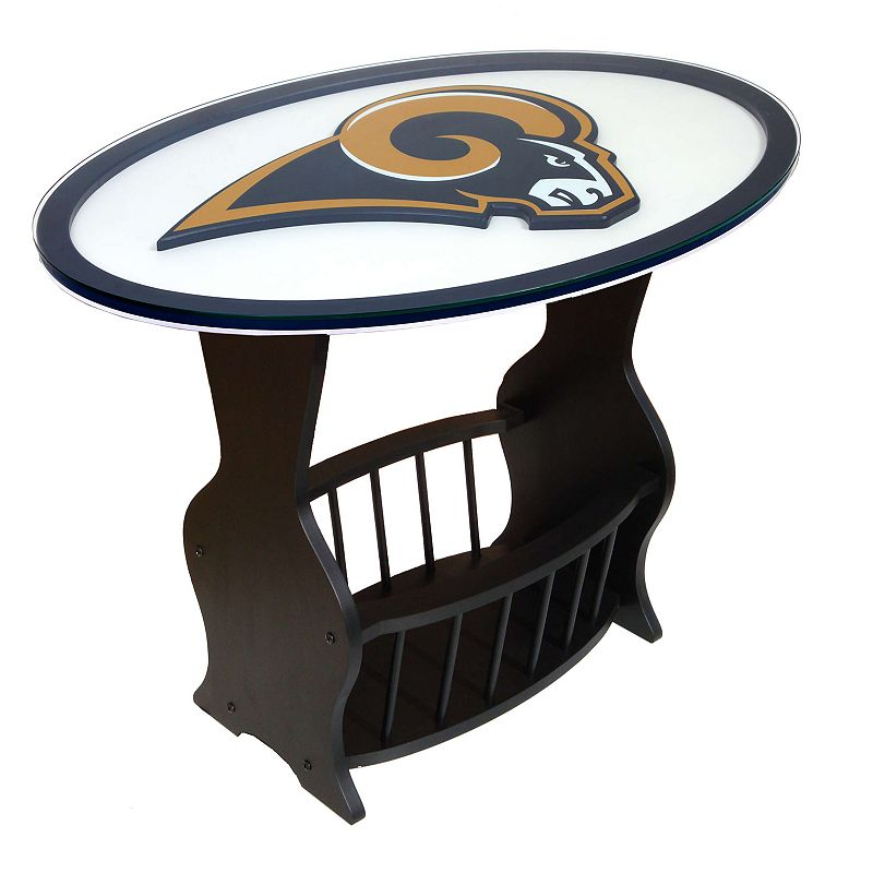 St. Louis Rams End Table