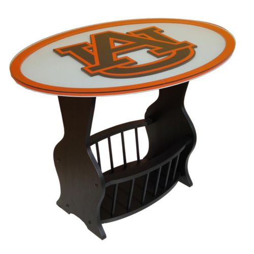 Auburn Tigers End Table