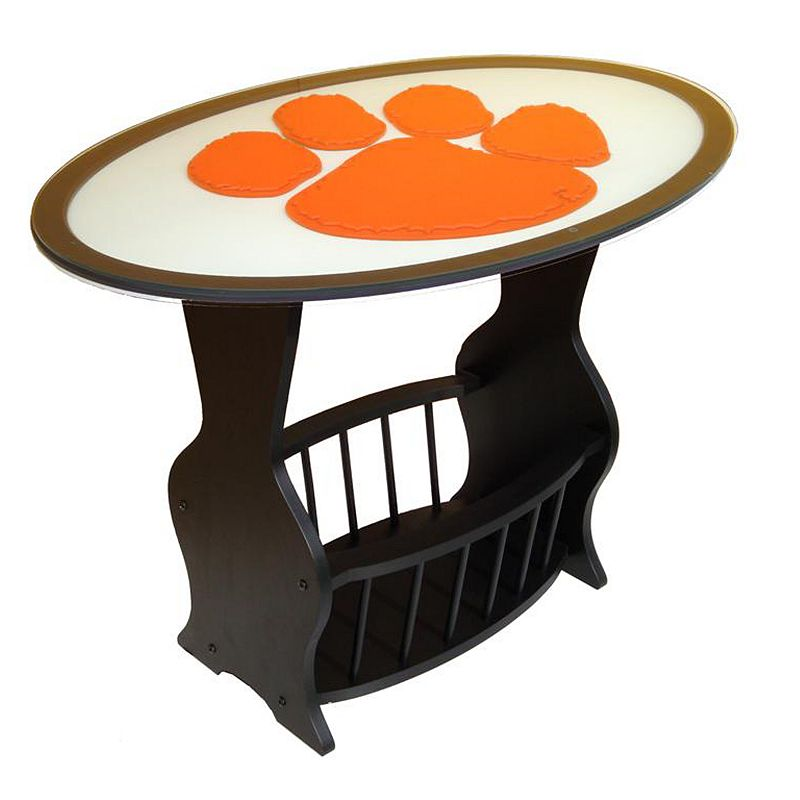 Clemson Tigers End Table