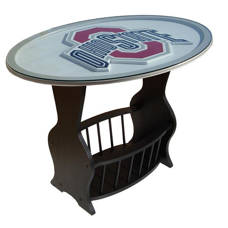 Ohio State Buckeyes End Table