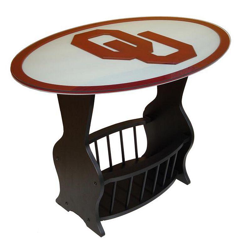Oklahoma Sooners End Table