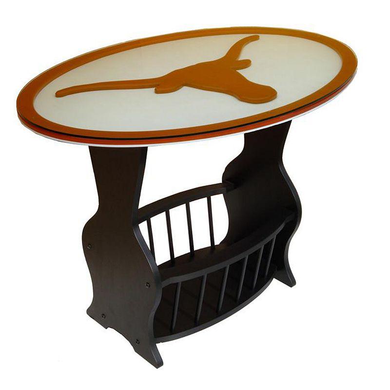Texas Longhorns End Table