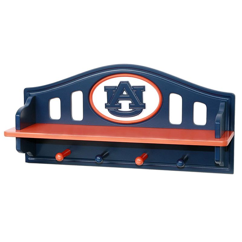 Auburn Tigers Wooden Shelf