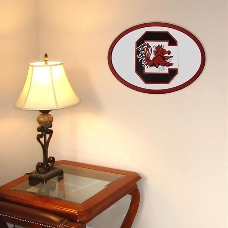 South Carolina Gamecocks 31-inch Carved Wall Art