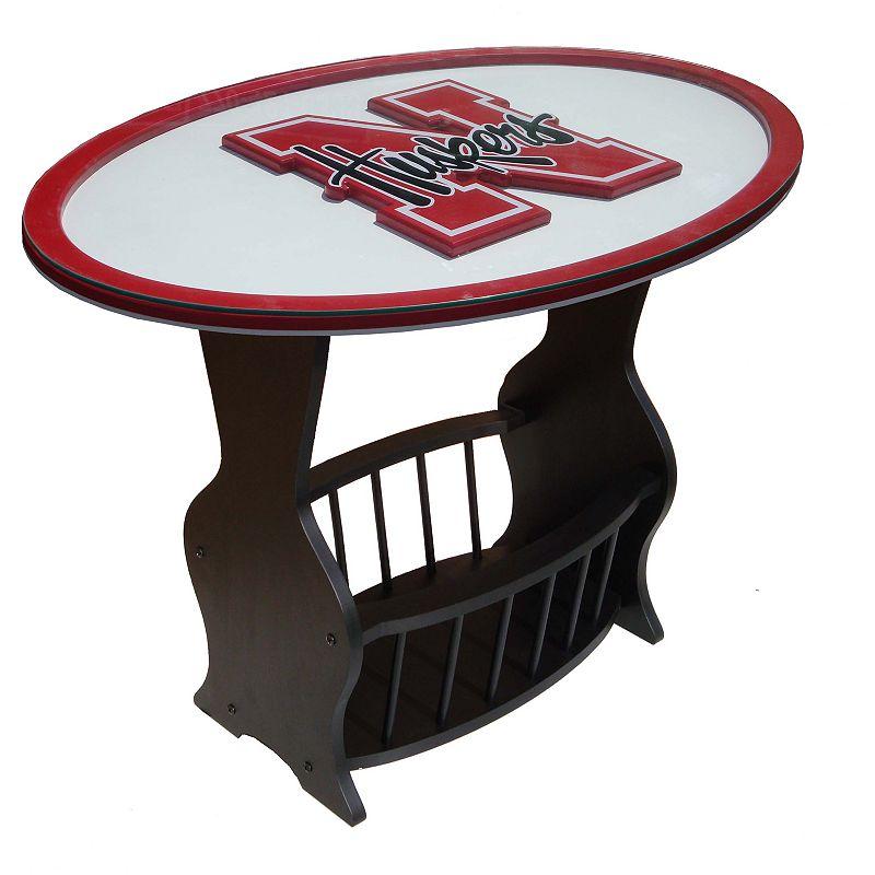 Nebraska Cornhuskers End Table