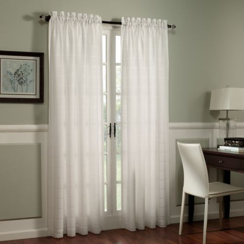 Home Classics® Ericson Sheer Window Panel - 54'' x 84''
