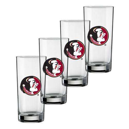 Florida State Seminoles 4-pc. Pint Glass Set