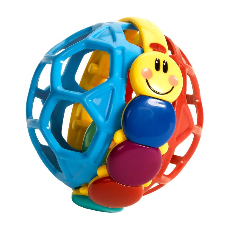 Baby Einstein Caterpillar Bendy Ball, Multicolor thumbnail