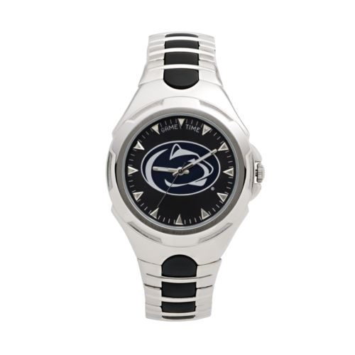 Game Time Victory Series Penn State Nittany Lions Silver Tone Watch - Men