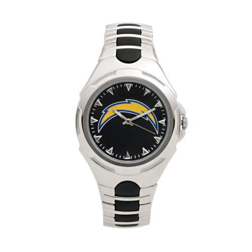 Game Time Victory Series San Diego Chargers Silver-Tone Watch - Men