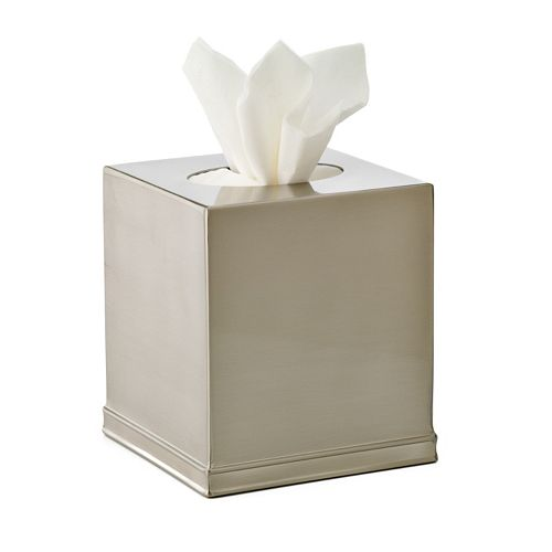 Home Classics Brushed Nickel Tissue Holder