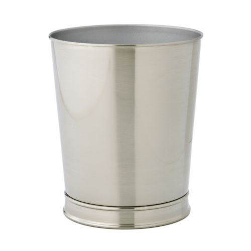 Home Classics® Brushed Nickel Wastebasket