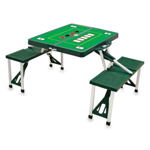 Picnic Time Foldable Poker Table