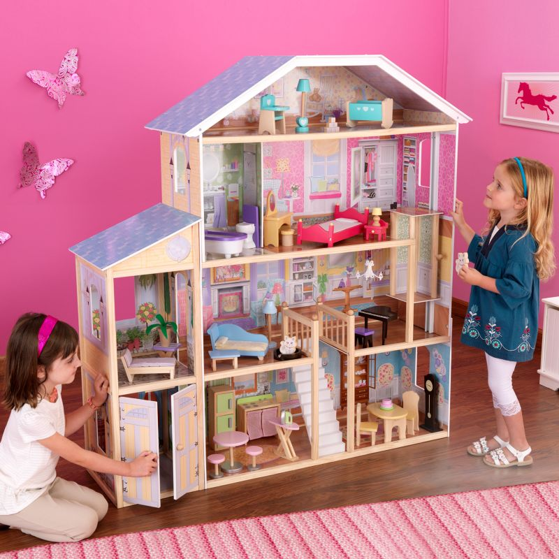 KidKraft Majestic Mansion Dollhouse, Multicolor