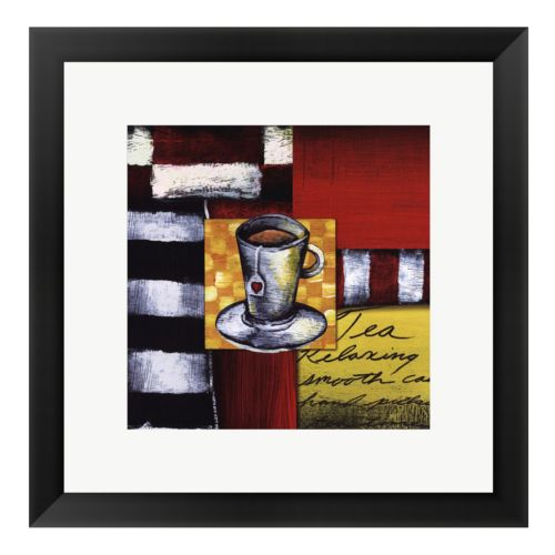 Steeping Tea Framed Art Print by Stacey Novak