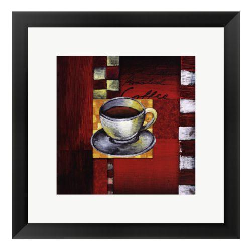 Brewing Coffee Framed Art Print by Stacey Novak