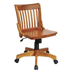 Office Star Products Deluxe Armless Banker's Chair by