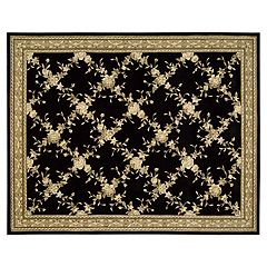 Julian Framed Floral Rug 5'3'' x 8'3'' by