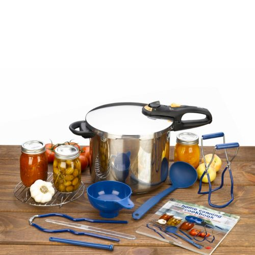 Fagor Duo 10-pc. Pressure Cooker and Canning Set
