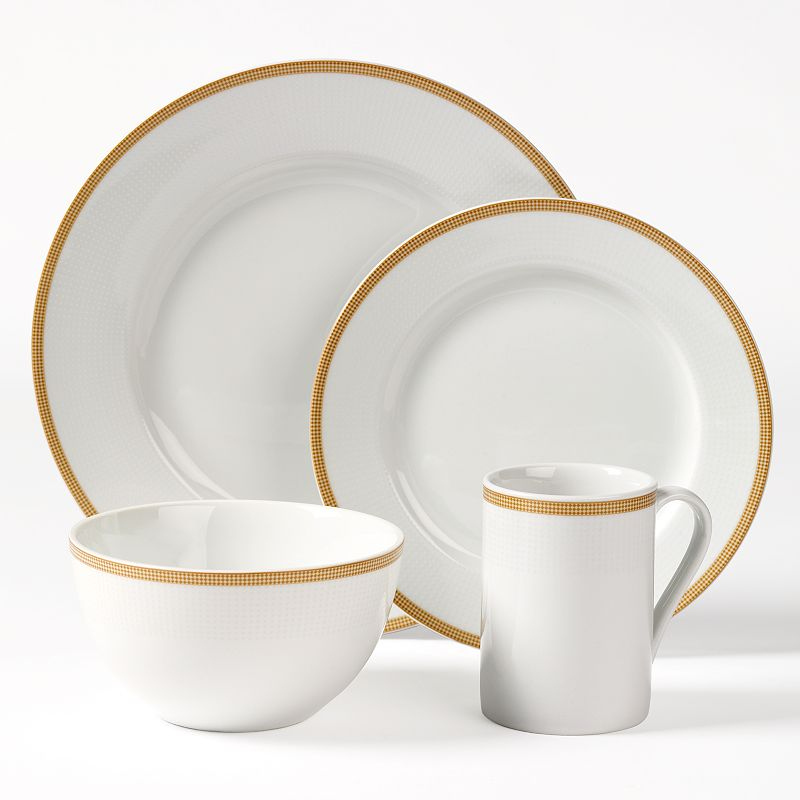 Tabletops Gallery Empress 16-pc. Dinnerware Set