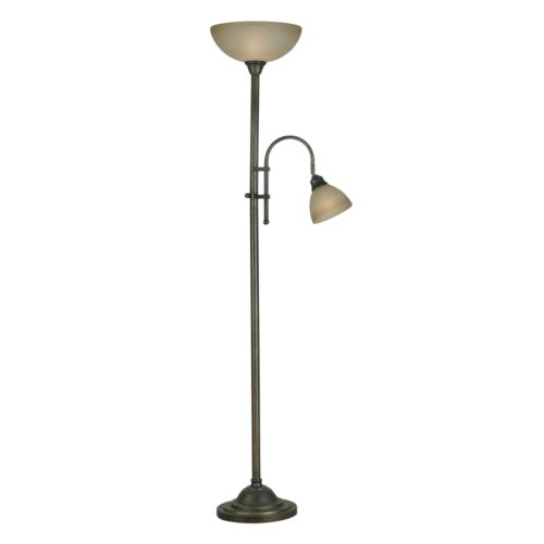 Callahan Torchiere and Reading Lamp