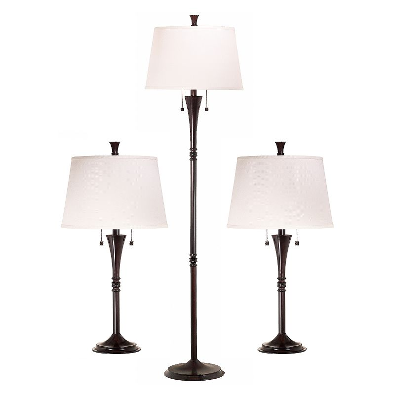 Park Avenue 3-pc. Lamp Set