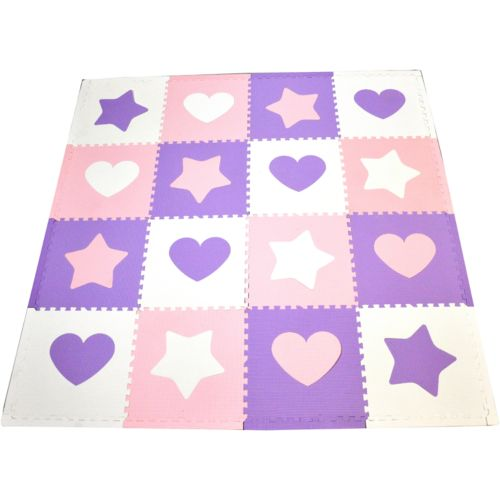 Tadpoles Hearts and Stars Play Mat