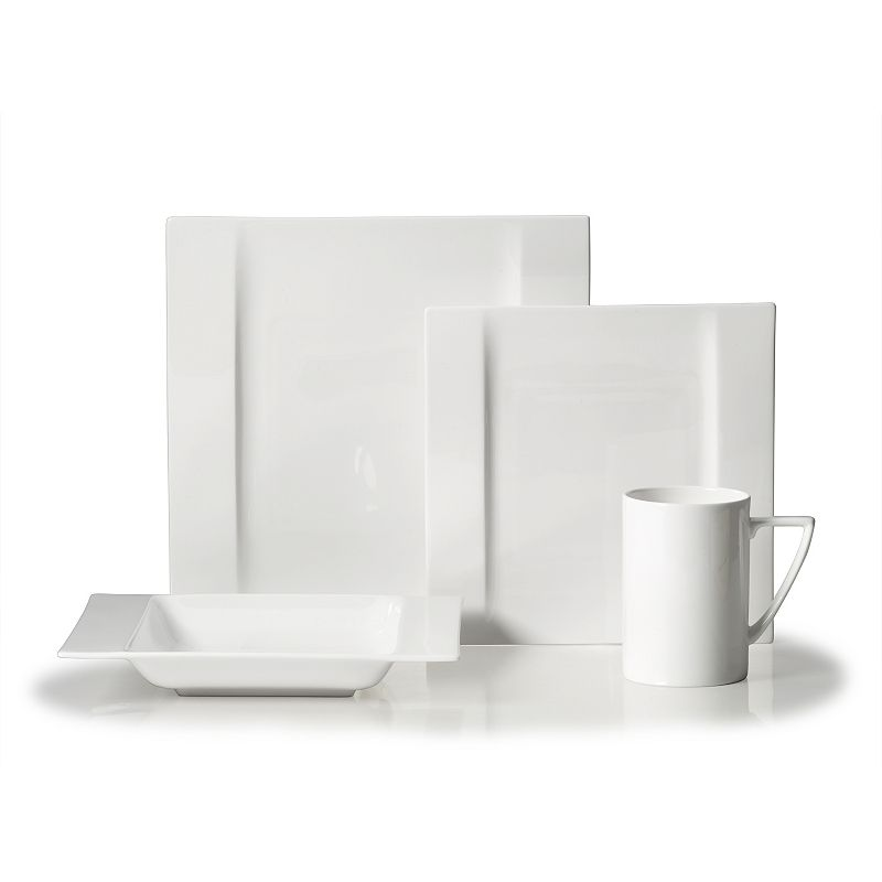 Mikasa Modern White 4-pc. Place Setting
