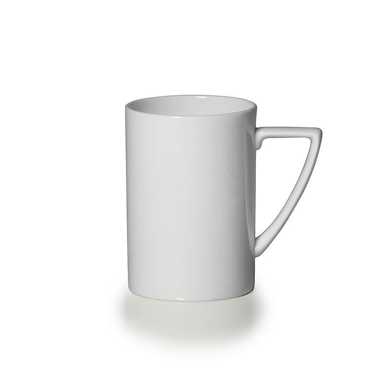 Mikasa Modern White Mug