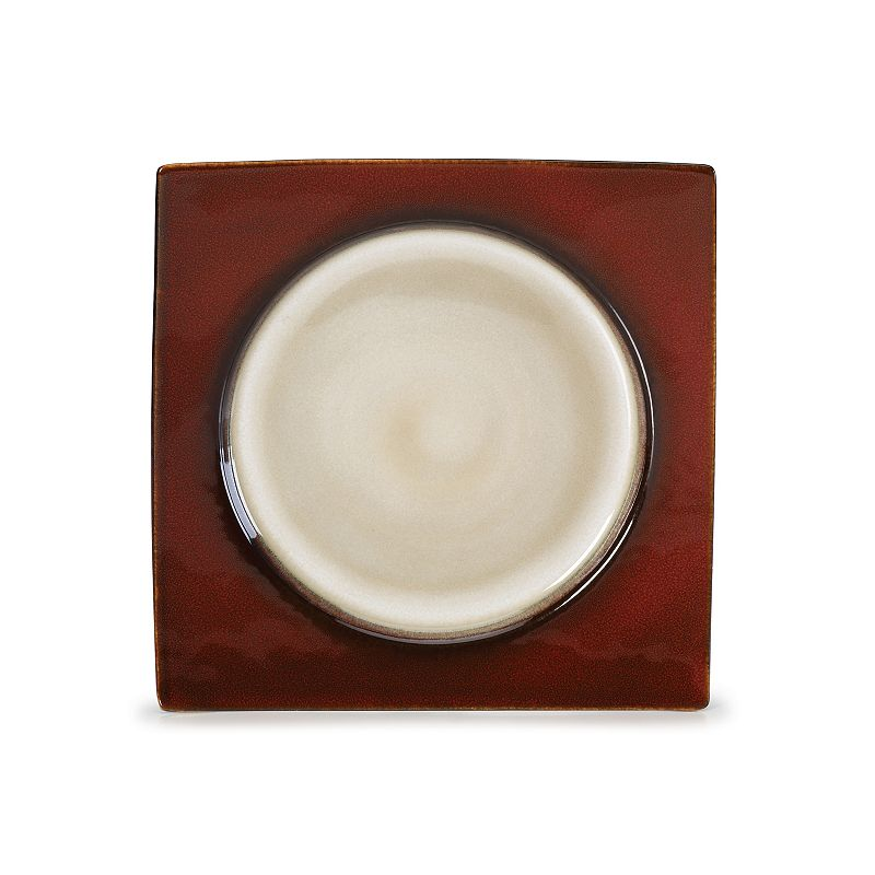 Mikasa Solstice Ruby Salad Plate