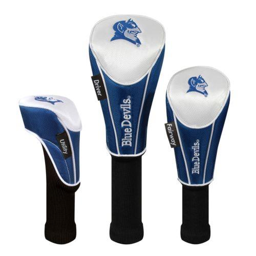 Team Effort Duke Blue Devils 3-pc. Head Cover Set