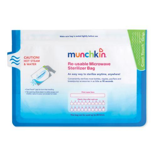 Munchkin 6-pk. Steam Guard Microwave Sterilizer Bags