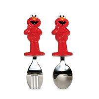 Sesame Street Elmo Toddler Fork & Spoon Set