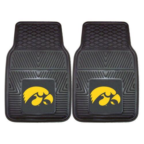 FANMATS 2-pk. Iowa Hawkeyes Car Floor Mats