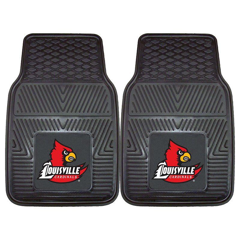 FANMATS 2-pk. Louisville Cardinals Car Floor Mats