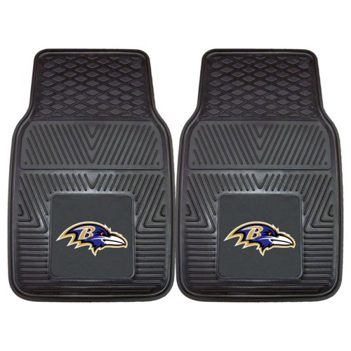 FANMATS 2-pk. Baltimore Ravens Car Floor Mats