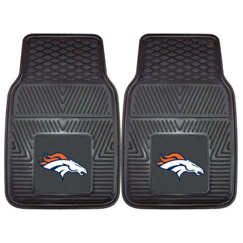 FANMATS 2-pk. Denver Broncos Car Floor Mats