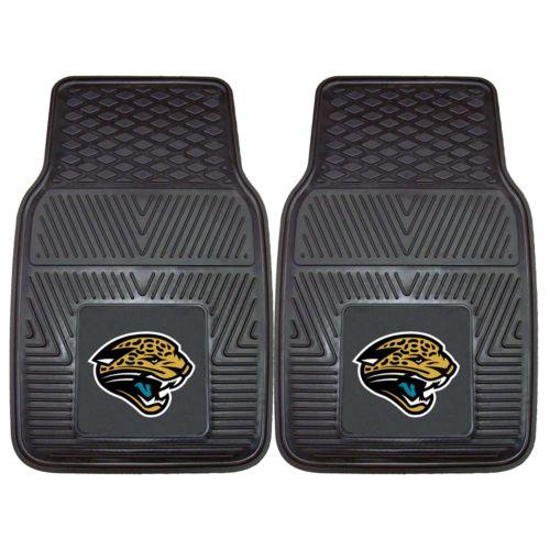 FANMATS 2-pk. Jacksonville Jaguars Car Floor Mats