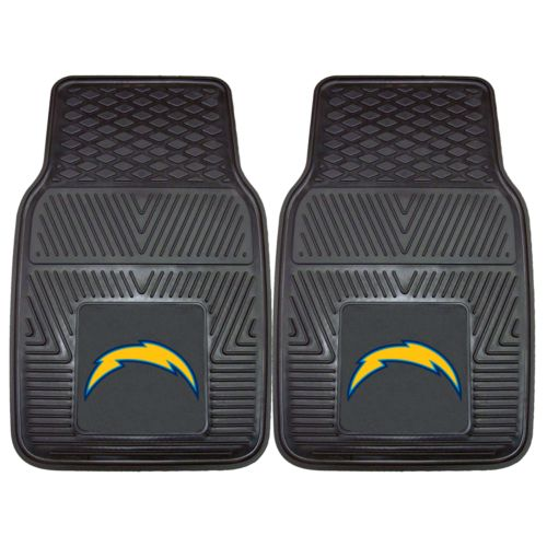 FANMATS 2-pk. San Diego Chargers Car Floor Mats