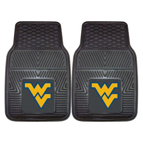FANMATS 2-pk. West Virginia Mountaineers Car Floor Mats