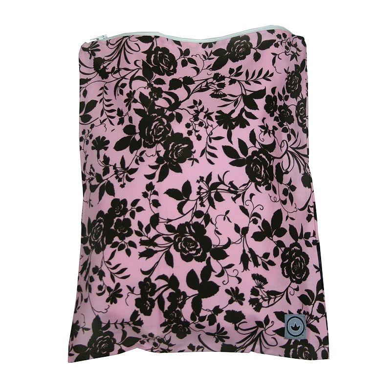 Little Luxe Floral Zippered Wet Bag