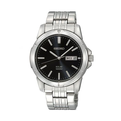 Seiko Stainless Steel Solar Watch - SNE093