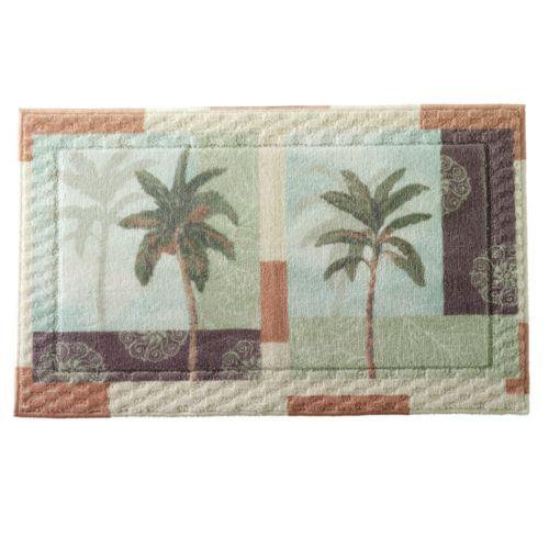 Bacova Palm Collage Bath Rug