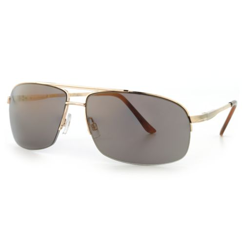 Unionbay Aviator Semirimless Sunglasses